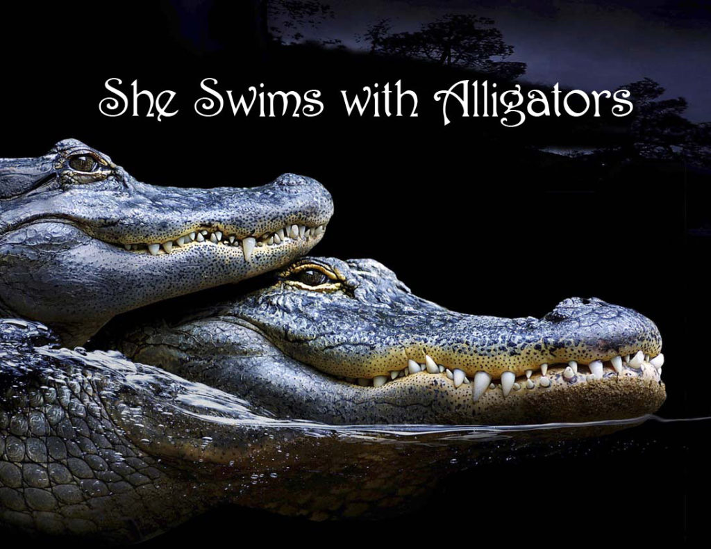 She Swims With Alligators - title page