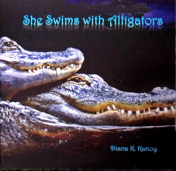 CD cover Alligator Book Poems by Diana Kanoy